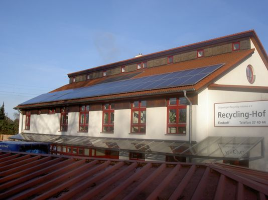 Solaranlage Recyclinghof Findorff